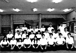 弓道部最後の合宿(平成22年(2010年))